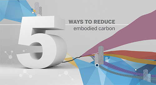 Five ways structural engineers can reduce embodied carbon in their designs