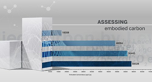 Assessing embodied carbon, with Tekla