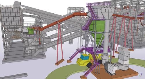 Tekla Structures pour la réalisation de projets industriels