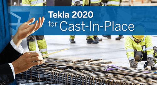 Tekla 2020 – Neuerungen für Bauunternehmen im Massivbau