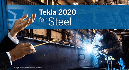 Tekla 2020 – Neuerungen für den Stahlbau