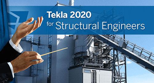 Tekla 2020 – Neuerungen für den konstruktiven Ingenieurbau
