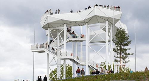 Aussichtsplattform Wolkenhain: Vollack Hallen- und Stahlbau setzt auf BIM