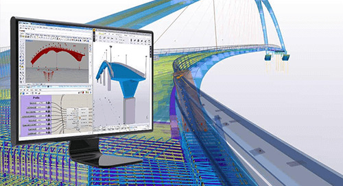 Effizienter Planungs-Workflow für Brücken