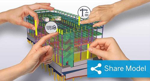 Tekla Model Sharing für Stahlbau-Planer & Fertiger
