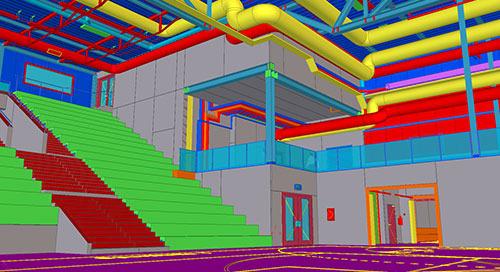 GoEasy: Sport- und Freizeitarena mit digitalem Bauprozess