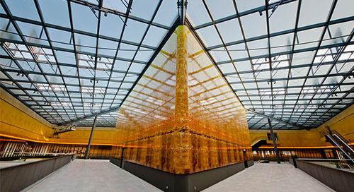 Thier-Galerie: Filigrane Stahlbaukonstruktion mit Tekla Structures