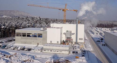 Max Bögl: Effiziente Planung und Ausführung für das Heizkraftwerk Sengenthal