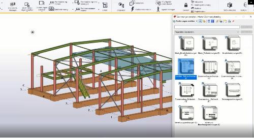 Komponenten – Intelligentes Konstruieren mit Tekla Structures