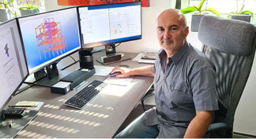 Tekla Model Sharing: Kleines Ingenieurbüro, große Projekte, starke Zusammenarbeit
