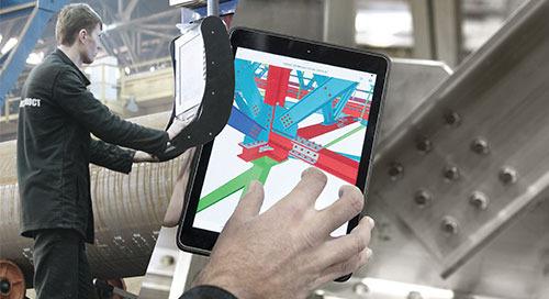 [Broschüre] Tekla-Software für die Stahlbauindustrie