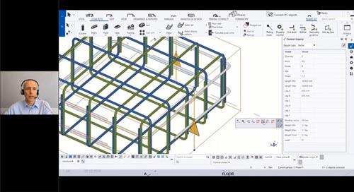 Tekla Structures 2020 - Neuerungen für den Massivbau