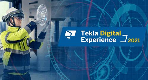 Tekla Digital Experience - 6. & 7. Mai 2021