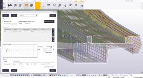 Gesamte Brückenplanung in Tekla Structures mit der neuen Bridge Creator-Extension