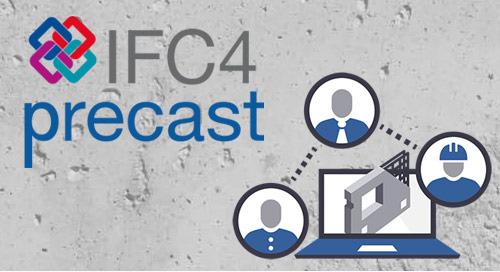 IFC4precast-Gruppe tauscht Erfahrungen aus und erweitert Spektrum mit Einbauteileherstellern