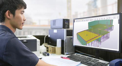 BIM im Massivbau bei UCI Industrial Construction Services