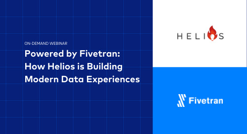 Powered by Fivetran: How Helios is Building Modern Data Experiences