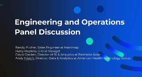 Panel: Engineering and Operations