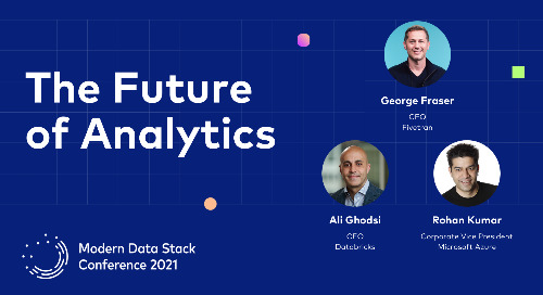 Keynote - An Executive Eye on the Future State of Analytics
