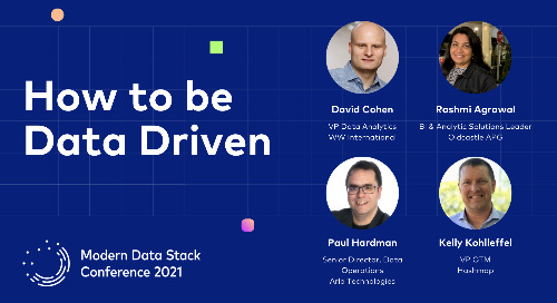 How to be Data Driven When the Data Isn't There