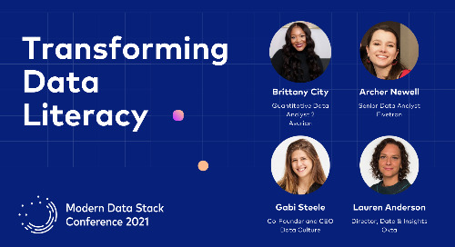 How Analysts Are Transforming Data Literacy at their Company