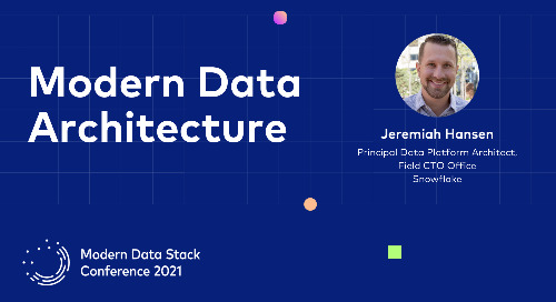 What is a modern data architecture, really?