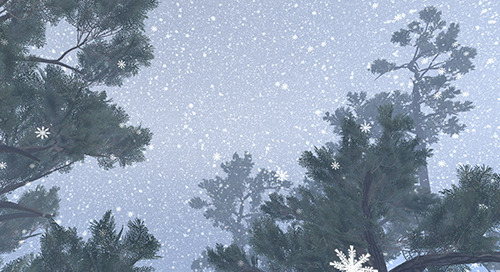 Making Snow with VFX Graph