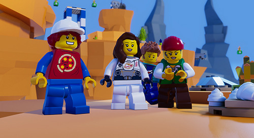 Build Your Own LEGO® Game