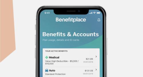 Benefitplace App Flyer Template