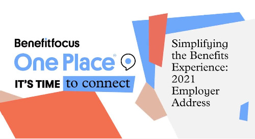 One Place 2021: Simplifying the Benefits Experience