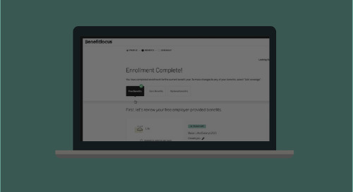 Simplify the Benefits Enrollment Experience