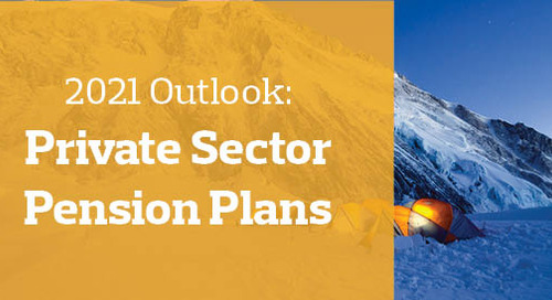 2021 Outlook: U.S. Private Sector Pension Plans