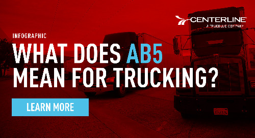 What does AB5 mean for the trucking industry? [Infographic]