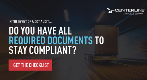 DOT Compliance Checklist