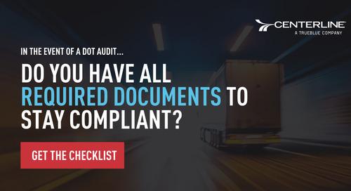 DOT Compliance Checklist