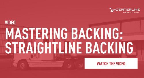 Mastering Backing: Straightline Backing