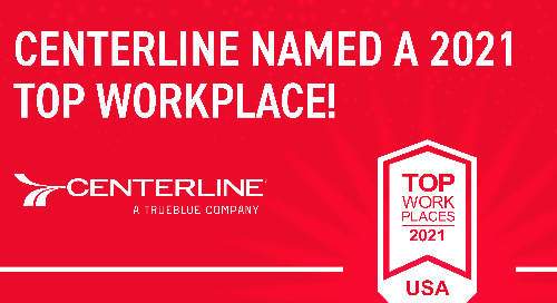 Centerline Drivers Among TrueBlue Companies to Win Top Workplaces in USA Award