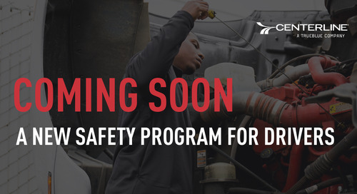 Coming Soon! A new safety program for drivers