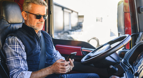 How to combat back, shoulder and knee pain as a truck driver