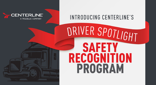 Announcing our new Driver Safety Recognition Program