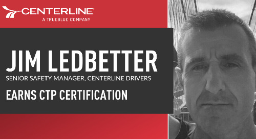 Centerline's Jim Ledbetter achieves prestigious Certified Transportation Professional designation
