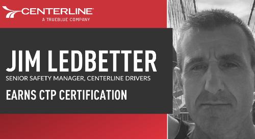 Centerline's Jim Ledbetter achieves prestigious Certified Transportation Professional designation
