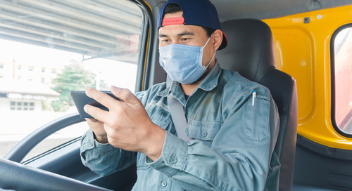 Preventing distracted driving as a truck driver