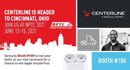 Join us for NPTC 2021 at Booth #100!