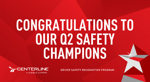 Congratulations to our Q2 Safety Recognition Program winners!