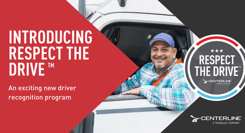 Introducing Respect the Drive™: An exciting new driver recognition program