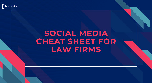 The Social Media Cheat Sheet for Law Firms