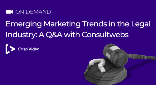 Emerging Marketing Trends in the Legal Industry: A Q&A with Consultwebs