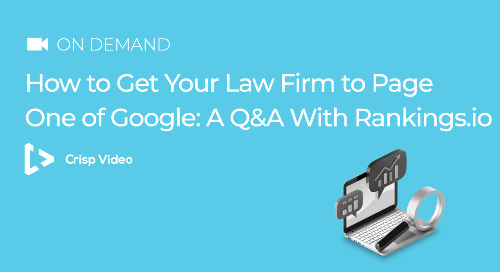 How to Get Your Law Firm to Page One of Google: A Q&A with Rankings.io