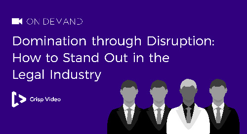Domination through Disruption: How to Stand Out in the Legal Industry